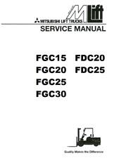 Mitsubishi Heavy Equipment Manuals & Books for Mitsubishi