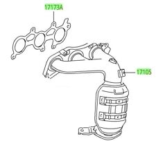 Genuine OEM Catalytic Converters for Toyota Sienna for