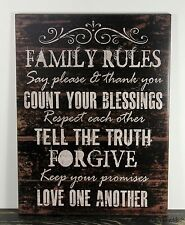Quotes Sayings Rustic Primitive Home Décor Plaques & Signs EBay