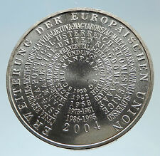 2004 GERMANY European Union EU Expansion Proof Silver German 10 Euro Coin i75333