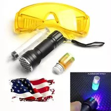 3-in-1 Fluorescent Leak Detection Tool Kit for Car Air Condition A/C System Test