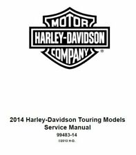 Harley-Davidson Motorcycle Service & Repair Manuals for