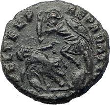 CONSTANTIUS II Constantine the Great son  Ancient  Roman Coin Gladiator   i73414