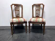 henredon asian dining chairs open back ebay mid century italian provincial neoclassical side pair