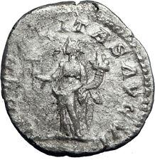 SEPTIMIUS SEVERUS 209AD Rome Silver Ancient Roman Coin Liberalitas i69955