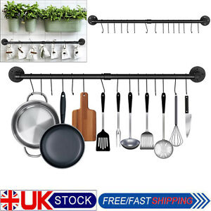 stainless steel kitchen hanging pots