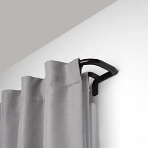 bronze double curtain rods for sale ebay