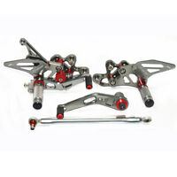 Foot Pegs Rear Sets Set Rearsets For Suzuki GSXR 600 750