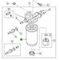 Land Rover PUMA Defender 2.4/2.2 Air Filter GENUINE PART
