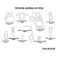 For Toyota Avalon 98-99 2D Real Black Carbon Fiber