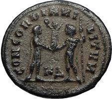 MAXIMIAN Authentic Ancient 295AD Roman Cyzicus Coin w JUPITER & VICTORY i67434