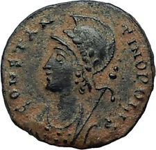 CONSTANTINE I the GREAT Founds Constantinople Original Ancient Roman Coin i67469