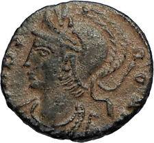 ANONYMOUS Constantine the Great Dynasty 337AD Roman Coin VRBS ROMA i67061