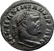 GALERIUS 305AD Large Ancient Roman Coin NUDE GENIUS PROTECTION Wealth   i73500