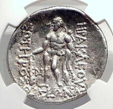 Celtic Celts Danube Silver Tetradrachm Greek Style Coin like THASOS NGC i72634