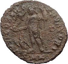 LICINIUS I Constantine I enemy 316AD Ancient Roman Coin NUDE JUPITER  i30911