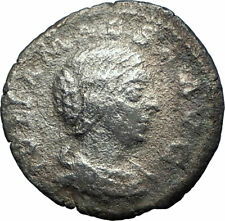 JULIA MAESA Elagbalus Grandmother Silver Ancient Roman Coin Pudicitia i77300