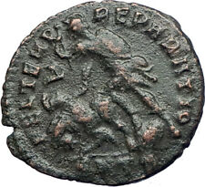 CONSTANTIUS II Constantine the Great  son Ancient Roman Coin  Gladiator i73667