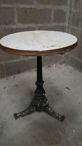 table bistrot fonte ebay