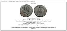 COMMODUS 177AD  Rare Ancient Roman Coin NUDE HERCULES w club  i22624