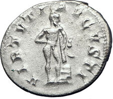 GORDIAN III 241AD Rome Silver  Ancient Roman Coin Nude Farnese HERCULES  i73265