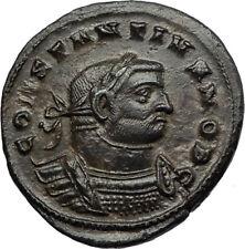 CONSTANTIUS I Chlorus 300AD Londinium London Mint RARE Ancient Roman Coin i66948