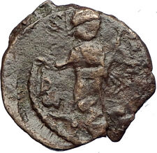 CRUSADERS of Antioch Tancred Ancient 1101AD Byzantine Time Coin St Peter i69507