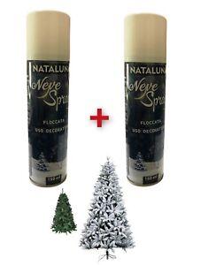 Il prezzo promozionale è valido solo per i pezzi. Neve Spray A Decorazioni Per Albero Di Natale Acquisti Online Su Ebay