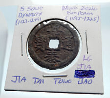1195AD CHINESE Southern Song Dynasty Genuine NING ZONG Cash Coin of CHINA i75263