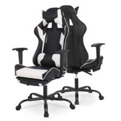 Gaming Chair Ebay Distressed Kitchen Chairs Office New Racing Style High Back Ergonomic Swivel
