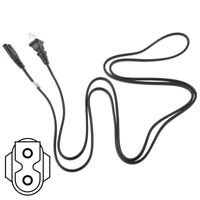 PwrON 6ft AC Polarized Power Cable Cord Lead for SHARP TV
