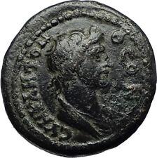 NACRASA in LYDIA Authentic Ancient 98AD RARE Greek Coin SENATE & ROMA i71122