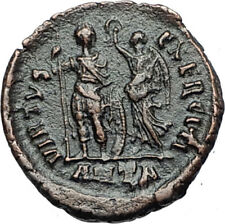 ARCADIUS crowned by Victory 395AD Antioch Authentic Ancient Roman Coin i67961