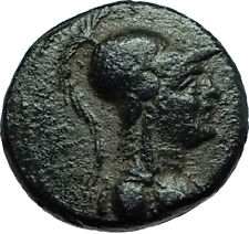 APAMEIA Seleukis Genuine Ancient 30BC Authentic Greek Coin ATHENA & NIKE i66513