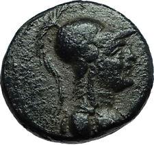 APAMEIA Seleukis Genuine Ancient 30BC Authentic Greek Coin ATHENA & NIKE i66513