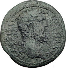 SEPTIMIUS SEVERUS 193AD Antioch Pisidia Ancient Roman Coin MEN Moon God i64456