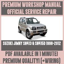 suzuki jimny workshop manual | eBay