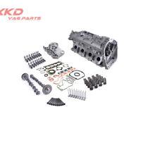 Engine Cylinder Head & Valves & Springs Assembly For VW