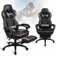 Custom Gaming Chairs Repair Plastic Lawn Computer Chair With Bundle Stools Ebay Office Racing Style High Back Recliner Desk Seat Footrest