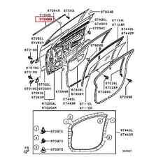 Car & Truck Exterior Mouldings & Trim for Mitsubishi