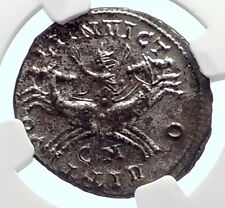 PROBUS Authentic Ancient 280AD Roman Coin SOL CHARIOT HORSE CHARIOT NGC i72088