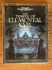 Temple Of Elemental Evil Map : temple, elemental, Dungeons, Dragons, Temple, Elemental