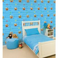 Thomas The Tank Engine Blue Kids Wallpaper Bedroom New 10m High Quality