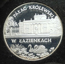 1995 POLAND Polish Palace Łazienki Genuine Silver Proof 20 Zlotych Coin i76310