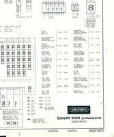 Service Manual-Anleitung-Ergänzung for Grundig Satellite