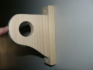 wooden modern curtain rods hardware