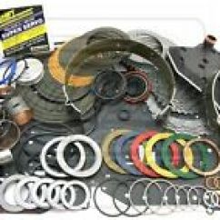 Ford 4r70w Transmission Diagram 2008 Chrysler Town And Country Parts Rebuild Kits For Mustang Ebay Deluxe Kit 98 03 L2 2 W Overdrive Super Servo