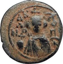 Islamic Arab Byzantine UMAYYAD Caliphate 670AD Authentic Ancient Coin  i67106