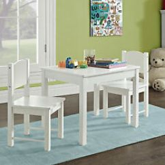 Solid Wood Childrens Table And Chairs Office Chair Depot Play Tables Ebay Wooden Kids 2 Set Hard Sturdy Child