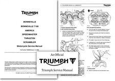 Triumph Bonneville Motorcycle Repair Manuals & Literature